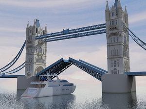 3dsmax london bridge