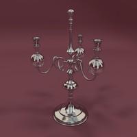 3d candelabra