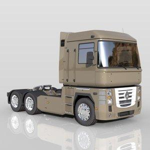 renault magnum trucks 3d max