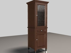 3d model of hutch scale glass