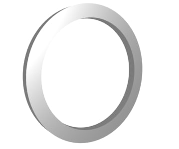 3d rotating ring animation model
