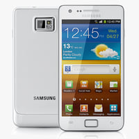 3d realistic samsung galaxy s model
