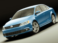 lightwave volkswagen jetta sedan