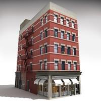 nyc building 3 3d c4d