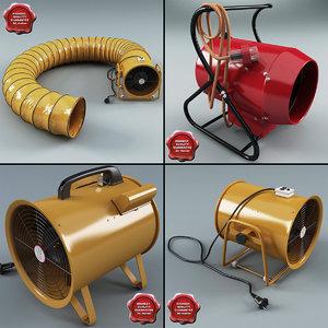 3d model portable ventilators