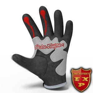 glove troy lee max