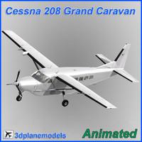 Cessna 208 Grand Caravan Generic white