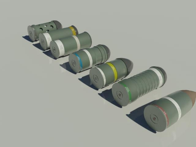 40mm grenades max