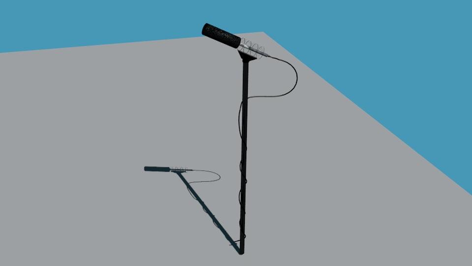 shotgun mic boom 3ds free