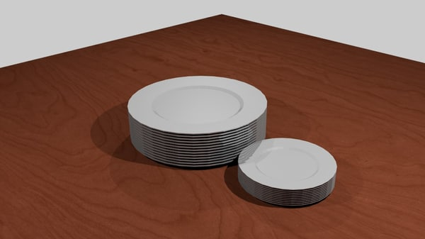 3ds max plates