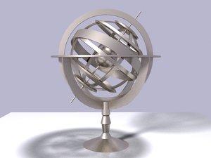 nautical sundial 3d 3ds