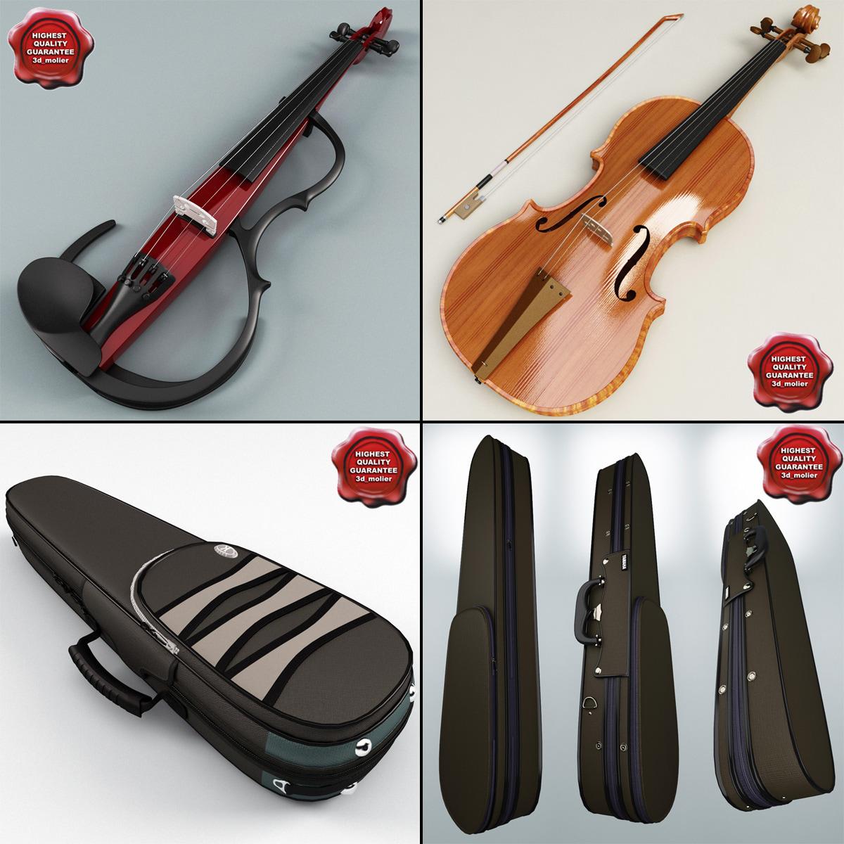 3ds violins cases
