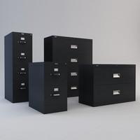 3d max file cabinet