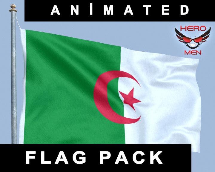 flag algeria lwo