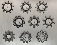 9 clock designs 3ds free