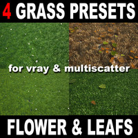 grass scatter 3d max