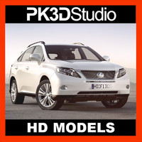 lexus rx car 3d model
