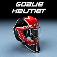 Goalie Ice Hockey Helmet - Canada