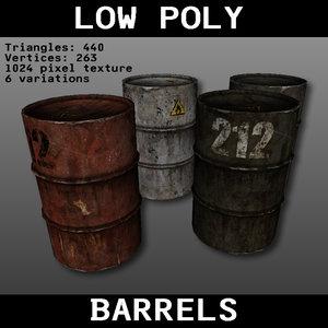barrels games 3d 3ds