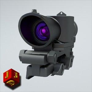 obj sight susat telescopic l9a1