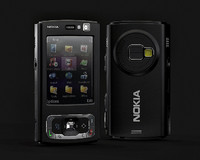 free nokia n95 finished 3d model