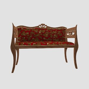 panchette bench 3d model