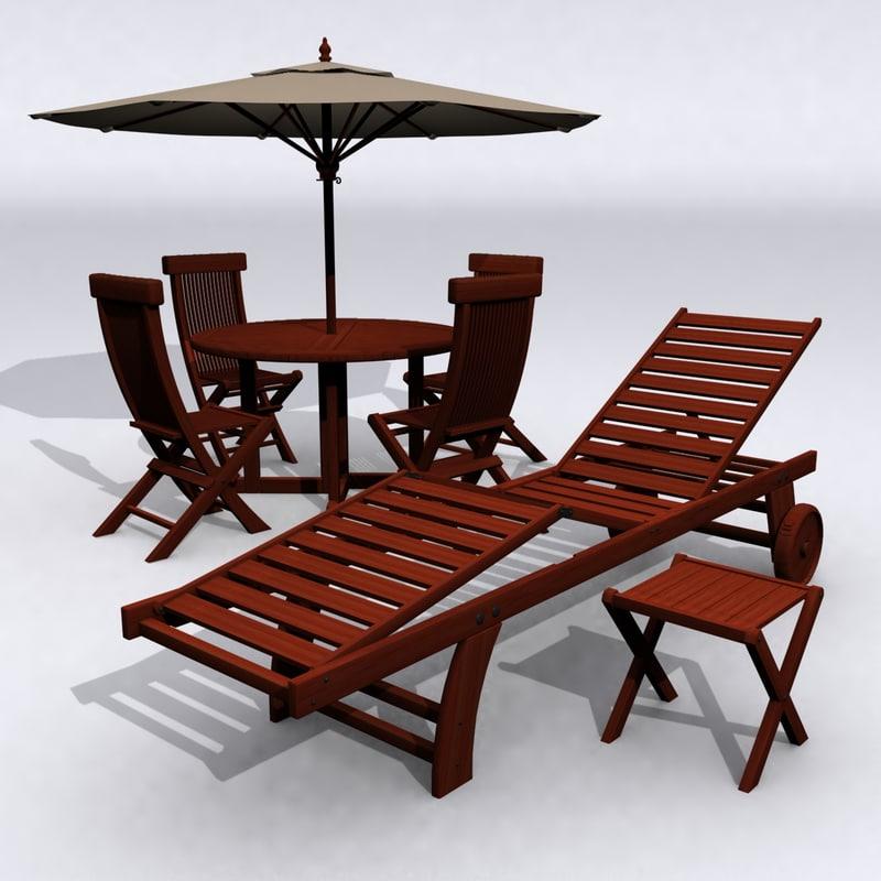 classic teak patio furniture max