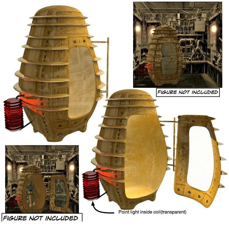 3d transporter stasis tube model