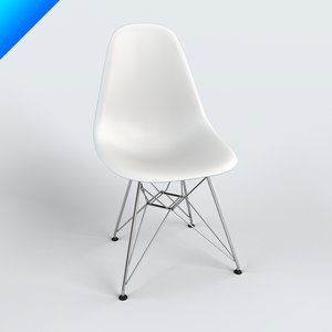3d model dining chair charles eames