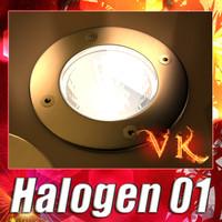 obj halogen lamp 01 light