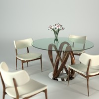Porada Infinity Table set