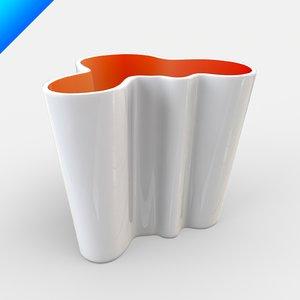 alvar aalto glass vase max