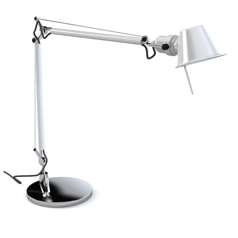 3d Model Artemide Tolomeo Led