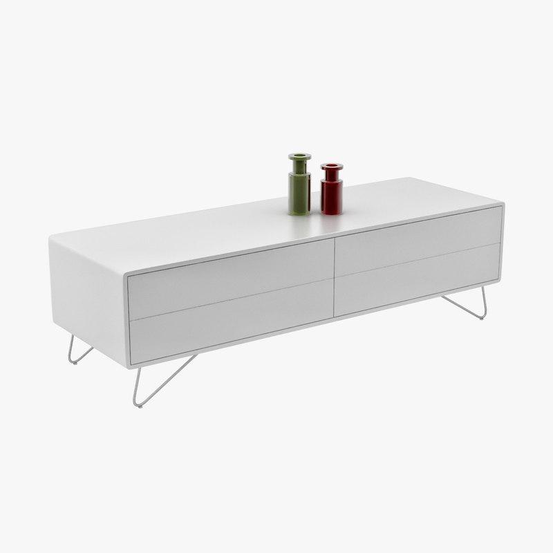 3d model boconcept sideboard - Boconcept mobel ...