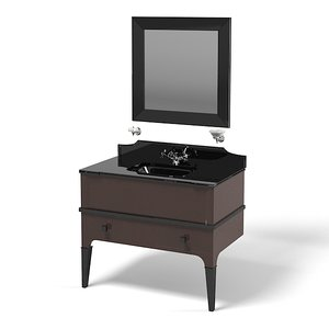 3d model devon suite bathroom
