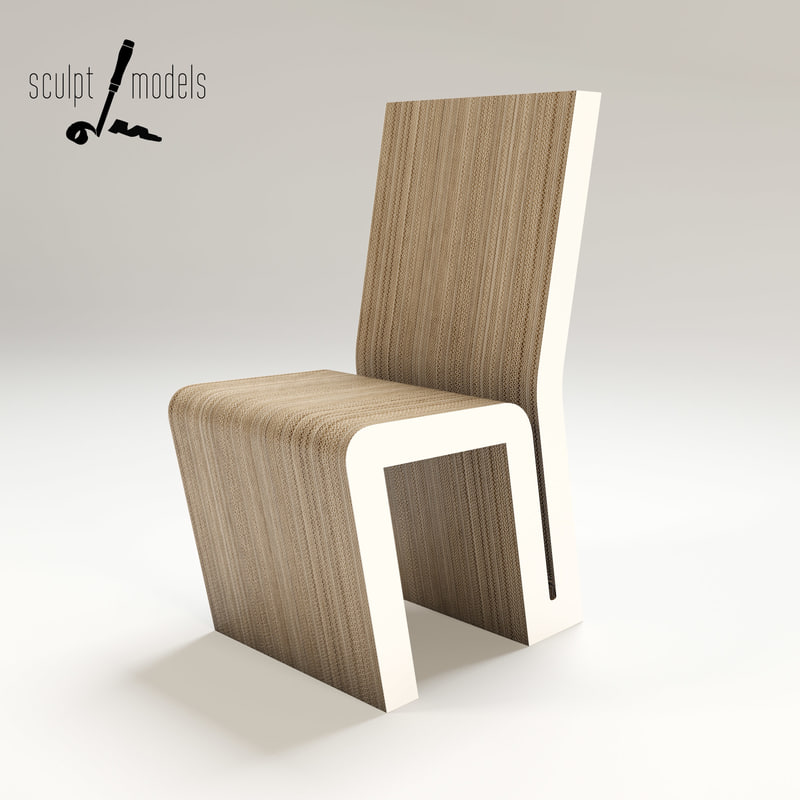 3d max frank gehry chair