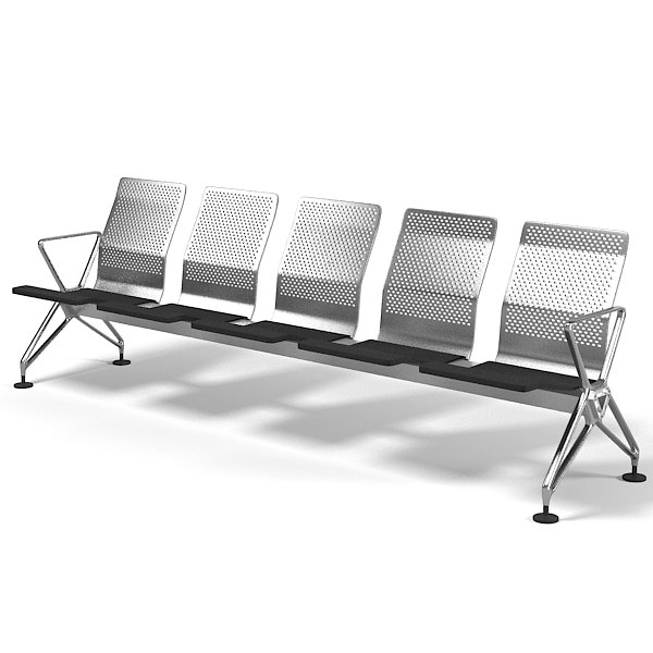 vitra airline airport 3d model
