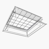 max fixed glass rooflight
