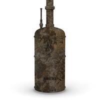 3d old boiler model