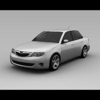 Subaru Impreza 2008 Sedan