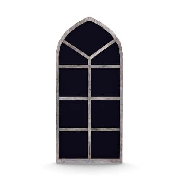 3d model old window