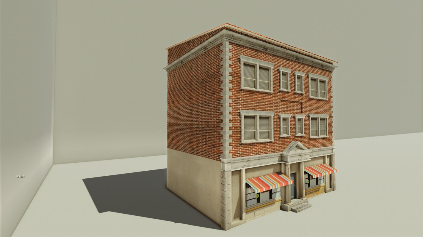 3d model house office