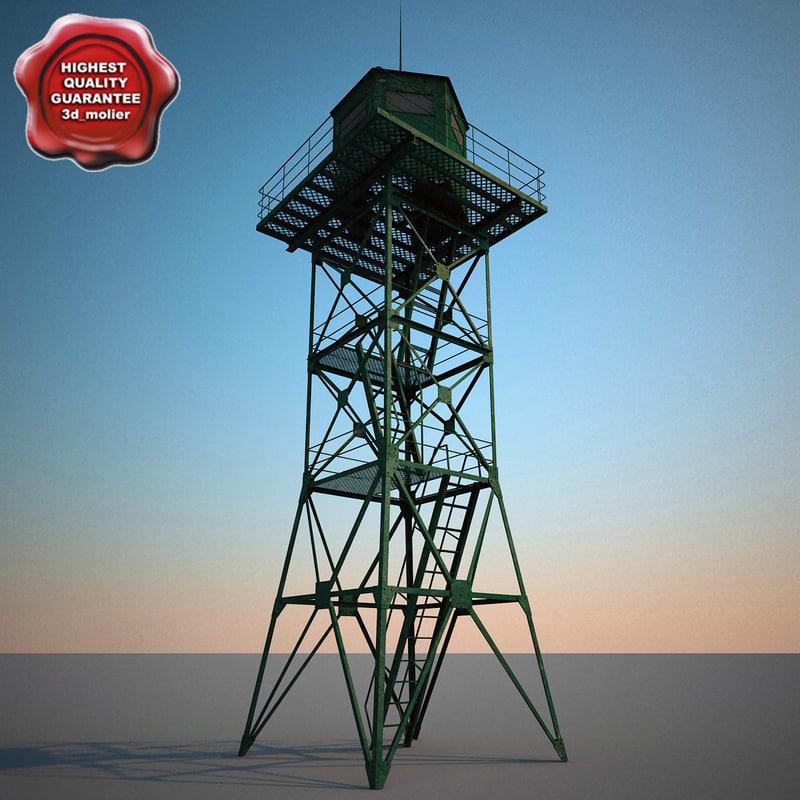 guard tower v3 3d model