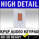 Russound KPSC Home Audio Wall Mount Source Keypad 3D Model