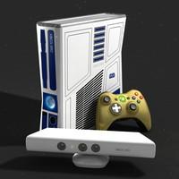3d star wars xbox 360 model