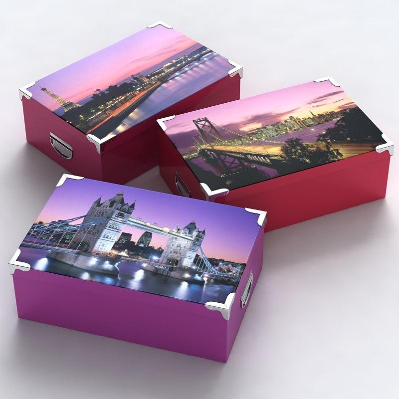 3d model of box