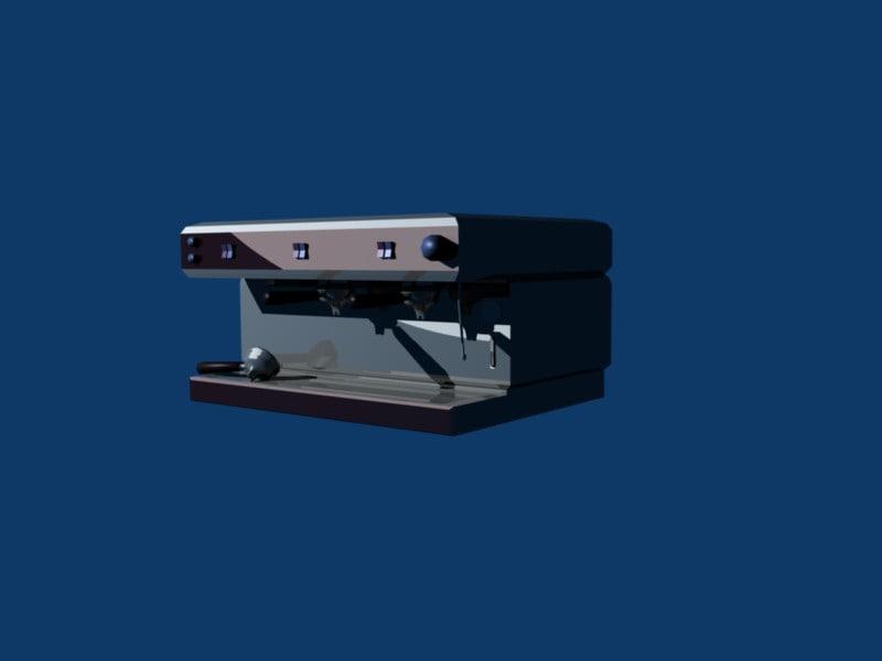 bar s coffee 3d model