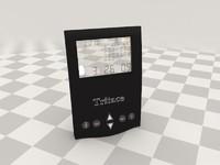 3d model clock interiors