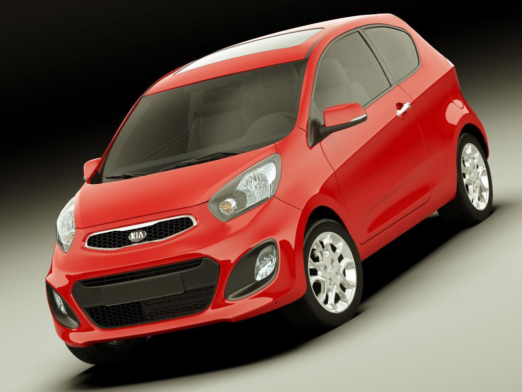 3d kia picanto 2012 model