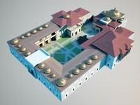 ottoman palace 3d max